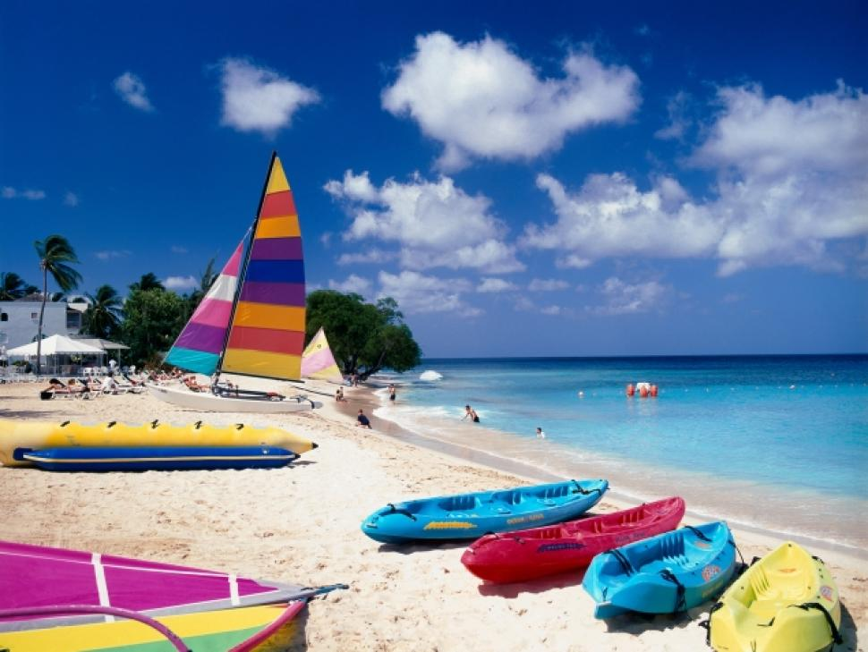 Discover Barbados' tropical pleasures, try a suite deal in Miami, explore Curacao, and plan a spring escape to Wildwood, N.J.