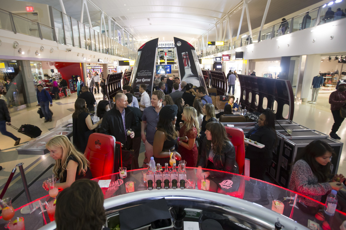 Start me up: JFK Airport's new tequila bar is a tribute to the Rolling Stones' 1972 tour