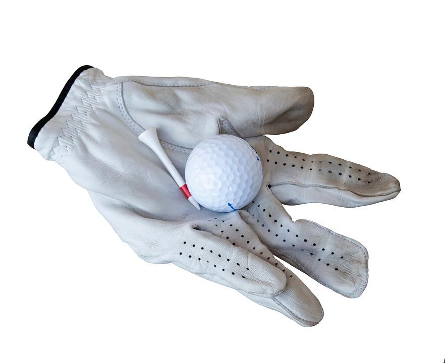 Golfer's glove