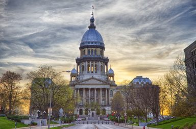 Illinois state capital building