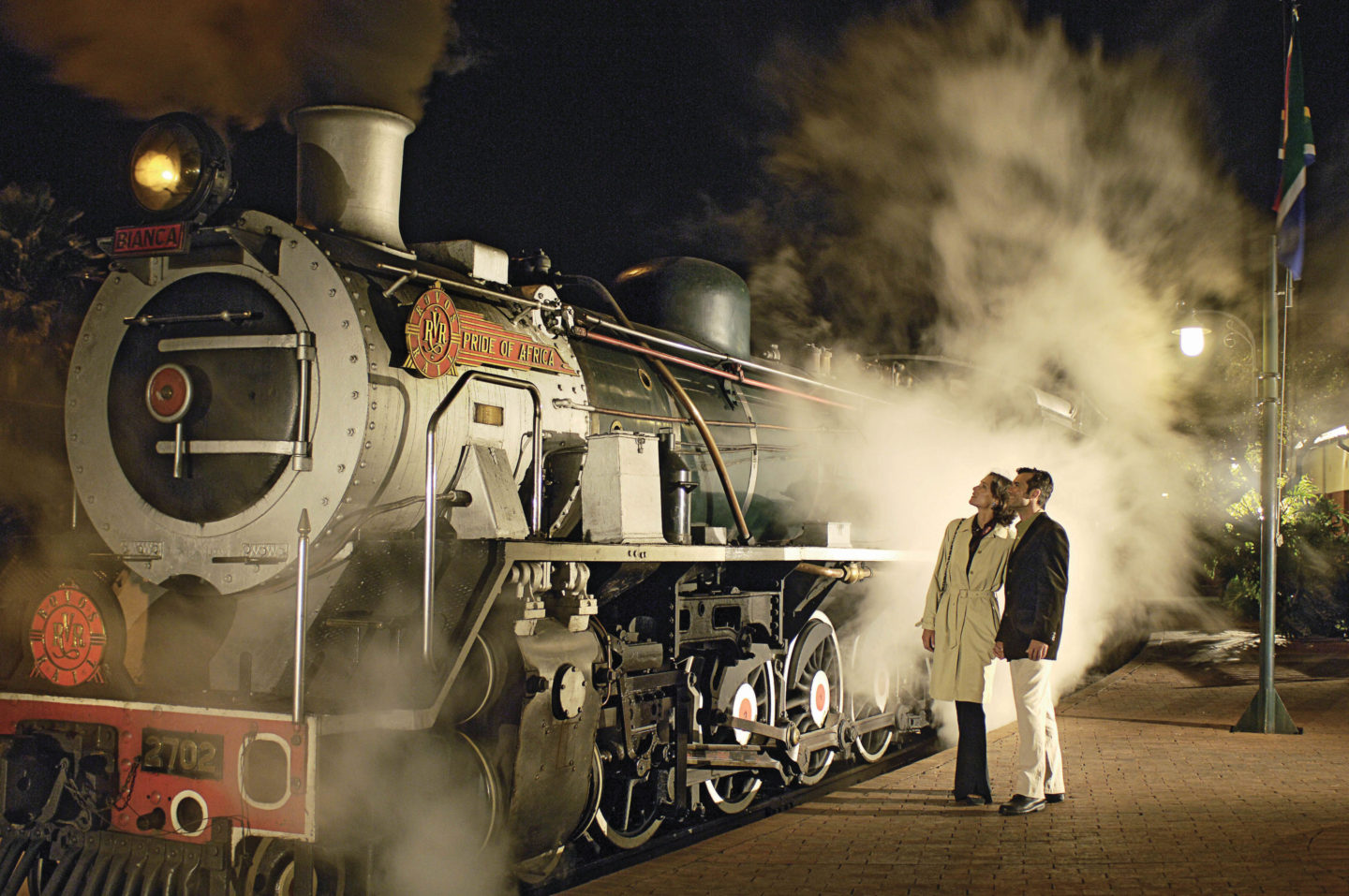 "Luxury Train Travel Between Cape Town and Dar es Salaam On ""The Pride Of Africa"""