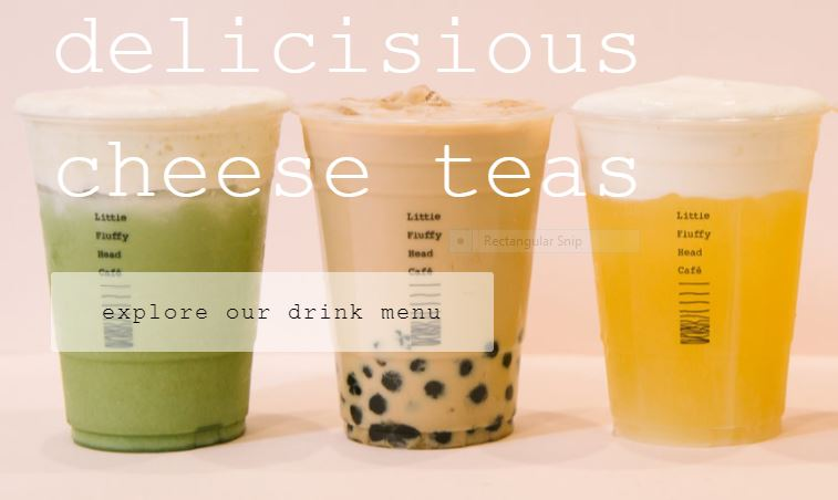 Cheese Tea?  You Bet!